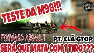 FWD,QUANTOS A M98 MATA COM 1 TIRO???