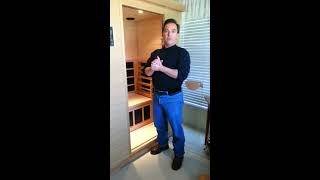 Dirk Discusses Using His Clearlight Infrared Sauna