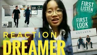 reaction: dreamer (Martin Garrix, Mike Yung) official video