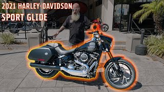 2021 Harley-Davidson Softail Sport Glide Specs & Features | How to Strip It Down