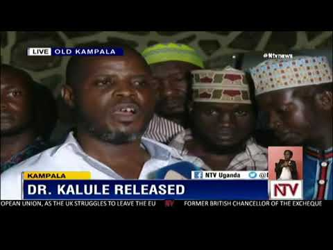Dr Ismail Kalule speaks out minutes after his release