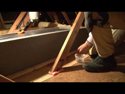 Welcome to episode 65 of the On the Job Series! In this segment, Tanner Janesky from Dr. Energy Saver makes his video debut by walking us through the 8 steps necessary to successfully install an airtight David Lewis attic hatch cover.
