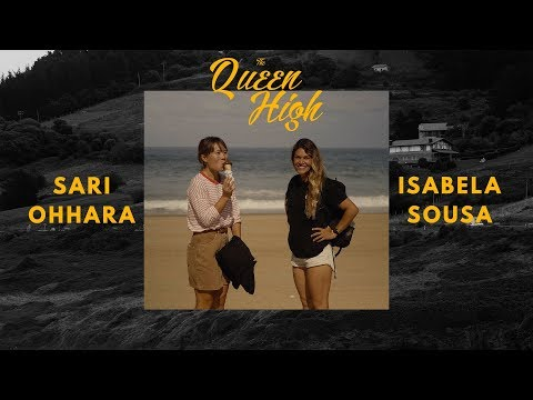 Queen High - Isabela Sousa & Sari Ohhara bodyboarding in Europe