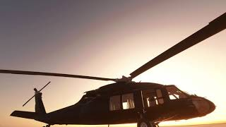 MSFS 2020 _ NEW Freeware  BlackHawk H 60 Helicopter Addon  _ TIMELAPSE