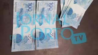 Homem é detido pela PM em posse de cédulas falsas de R$ 100,00