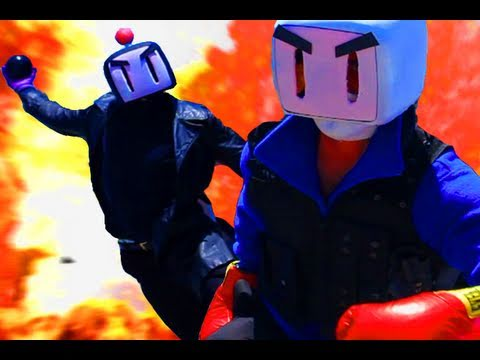 In Bomberman: The Movie, Only A Cop On The Edge Can Save A City In Danger