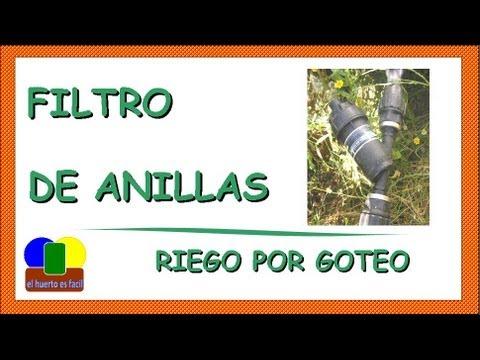 Filtro De Anillas || Riego Por Goteo