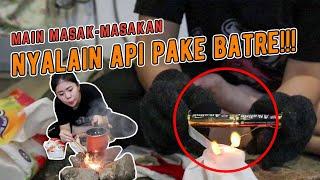 CARA BERTAHAN HIDUP MASAK MENGUNAKAN ALAT SEADANYA!!!!