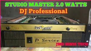 studio master 2000 watt amplifier price in india