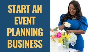 5 TIPS FOR STARTING AN EVENT PLANNING BUSINESS IN 2020