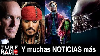 Tube Radio: ¡Adiós Jack Sparrow! Agentes de SHIELD, Devil May Cry, Young Justice, GOTG, Jack Reacher