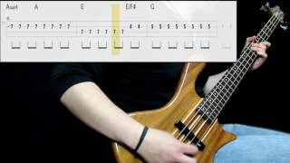 Foo Fighters   Learn To Fly (Bass Cover) (Play Along Tabs In Video)
