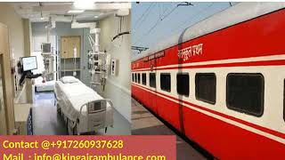 Hire King Train Ambulance from Bangalore and Patna with Medical Team