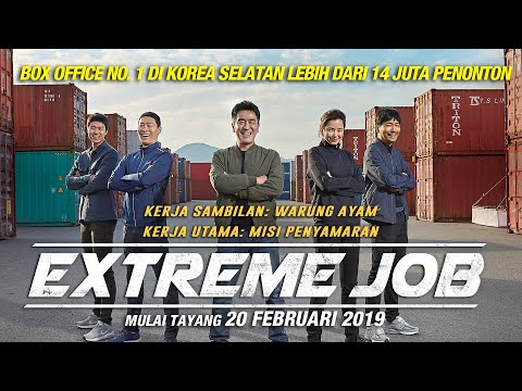 EXTREME JOB Official Indonesia Trailer