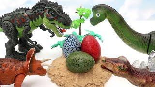 Who's Dinosaur Eggs? Jurassic World Dinosaur Born In Dinosaur Eggs 공룡 알 부화 티라노사우루스
