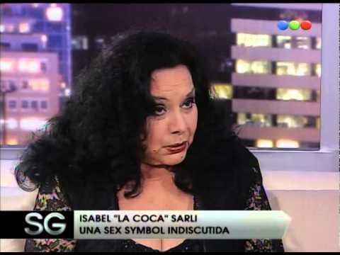 """Video: La Coca Sarli cuando dijo: """"Sigo siendo tímida"""""""