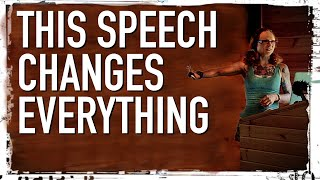 This Speech Will Change How You See Everything