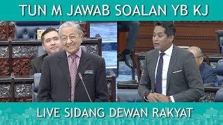 Tun M Jawab soalan kontroversi YB Khairy Jamaluddin | LIVE Dewan Rakyat