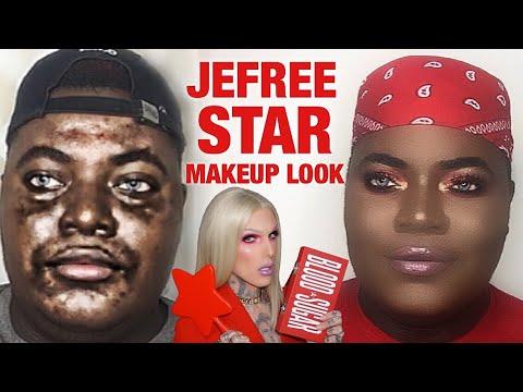 Jeffree Star BLOOD SUGAR PALETTE Makeup Tutorial