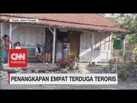 Penangkapan Empat Terduga Teroris