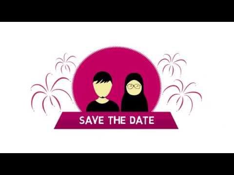 Video Undangan Nikah Animasi (Unik dan Kreatif)