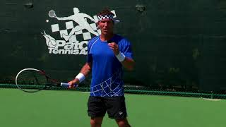 The Perfect Contact Point Head Position | Pat Cash Tennis