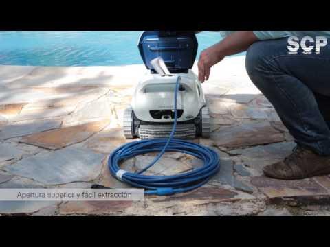 Limpiafondos Blue Maxi: Unboxing y funcionamiento