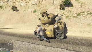 GTA 5 Metal Slug Mod - Cỗ Máy Huỷ Diệt Khu Quân Đội GTA 5