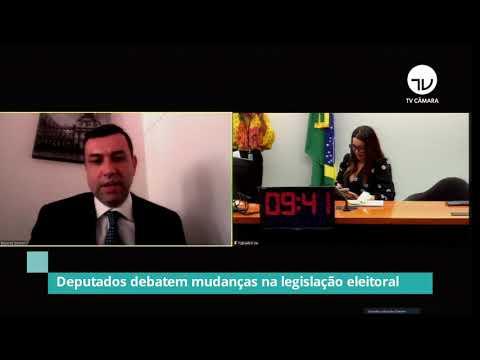 Grupo de trabalho debate mudanças na legislação eleitoral - 12/03/21