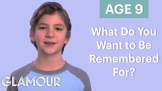 70 People Ages 5-75 Answer: What Do You Want to Be Remembered For? | Glamour