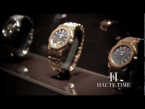 Haute Time Picks Five (5) Unique Watches at Audemars Piguet's US Flagship Boutique
