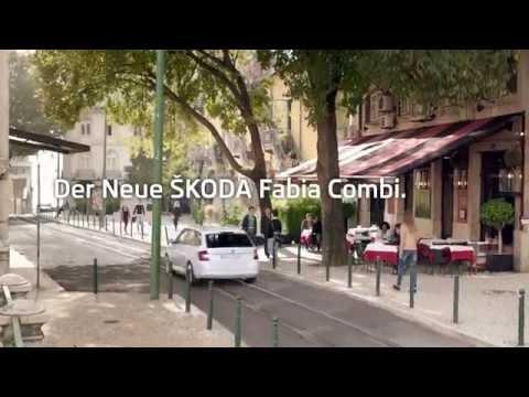 Skoda Fabia Combi Универсал класса B - рекламное видео 1