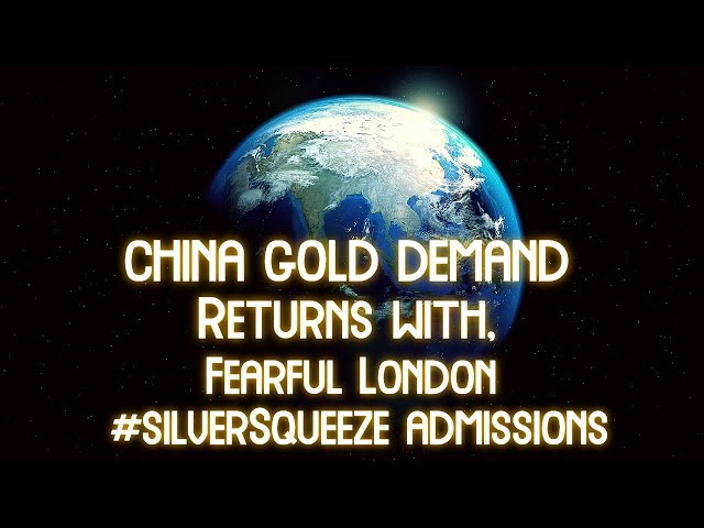 Big News Breaking About Chinese Gold Demand