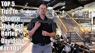 How To Choose The Best Harley-Davidson For YOU!