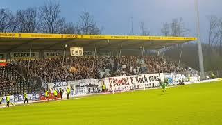 08.04.2018  SG Sonnenhof Großaspach - TSV 1860 München 1:0, Support, Stimmung, Fans