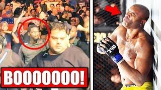 Anderson Silva fans BOO Cannonier for UFC 237 win, Nate Diaz RETURNS vs Pettis, Namajunas on UFC 237