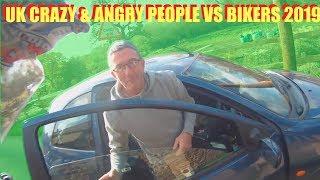 UK Crazy & Angry People Vs Bikers - ROAD RAGE 2019