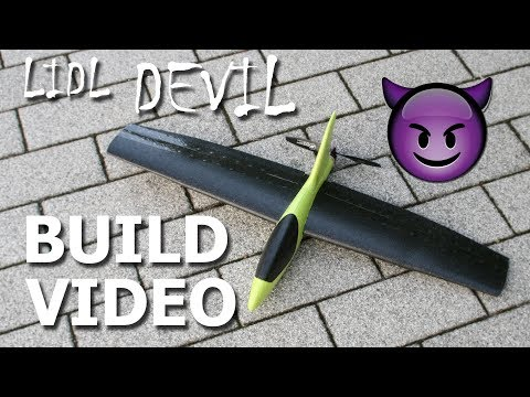 build-video--rc-conversion-of-a-lidl-glider-into-a-highspeed-flying-wing--the-lidl-devil