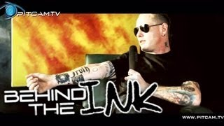 SLIPKNOT / STONE SOUR - Behind The Ink with Corey Taylor (Tattoo Talk)