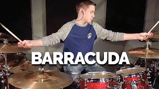 BARRACUDA (HEART) Drum Cover (age 12)