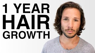 1 Year Hair Growth - From A Short Fade | Mens Hair