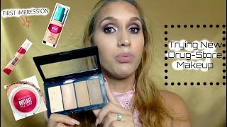 New Drug Store Makeup +First Impressions