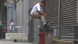 LurkNYC, New York Times Volume 23 | TransWorld SKATEboarding