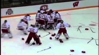 Kelly Nash OT Goal Wisconsin Badgers