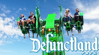 Defunctland: The History of the Worst Six Flags Coaster, Green Lantern: First Flight