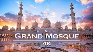 Sheikh Zayed Grand Mosque 🕌 - Abu Dhabi, United Arab Emirates 🇦🇪 - By FPV Racing Drone [4K]