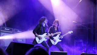 EUROPE Wings of tomorrow [Eric Rivers][H.E.A.T] @ Väsby rockfestival 2014 Upplands Väsby