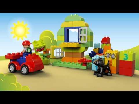 Vidéo LEGO Duplo 10572 : Grande boîte du jardin en fleurs