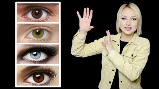 What Your EYE COLOR REALLY Is?