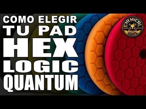 Cómo elegir el pad adecuado para pulir. Hex Logic Quantum Chemical Guys - Español
